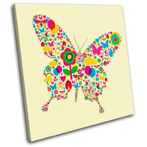 Floral Butterfly Animals - 13-0464(00B)-SG11-LO